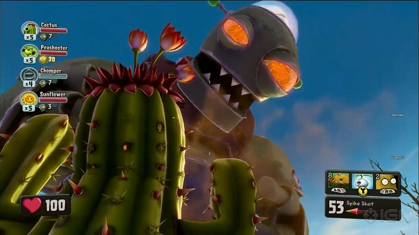 Растения против зомби 2: садовая война / plants vs. Zombies 2.